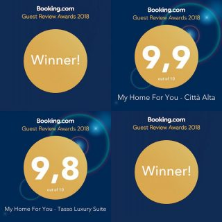 BOOKING AWARDS 2018 Un ringraziamento speciale a tutti i miei ospiti che hanno reso possibile questo. Grazie a tutti !!! A special thanks to my guests who made all this happen. Thank you !!! #awards #travelblogger #travelreview #bergamo #visitbergamo @visitbergamo_official @bookingcom